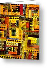 Out Of Africa Greeting Card by JoeRay Kelley