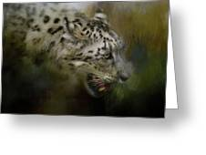 Out Of The Brush Greeting Card