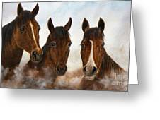 Out Of The Fog  Sold Greeting Card