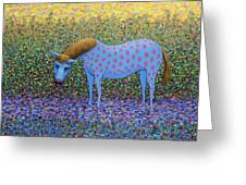Out Of The Pasture Greeting Card