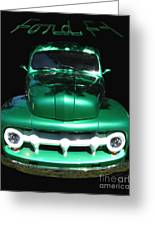 Out Of The Shadows - 51 F100 Ford  Greeting Card
