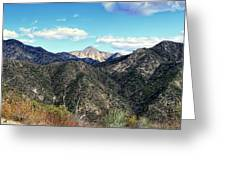 Out Of The Shadows - Angeles Crest Highway Greeting Card