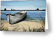 Out On The Water Greeting Card