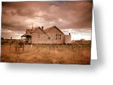 Outback Farmhouse Greeting Card
