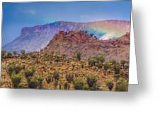 Outback Rainbow Greeting Card