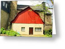 Outbuilding. Germany Greeting Card