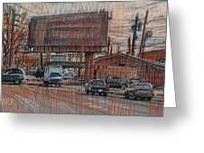 Outdoor Advertising Greeting Card by Donald Maier