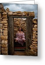 Outdoor Outhouse Greeting Card