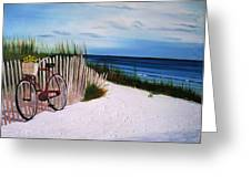Outer Banks Beach Greeting Card