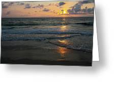 Outer Banks Morning Greeting Card