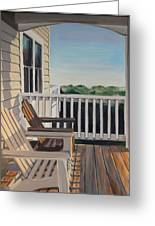 Outer Banks Morning Sun Greeting Card