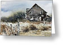Outer Banks Shack Greeting Card