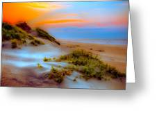 Outer Banks Soft Dune Sunrise Fx2 Greeting Card