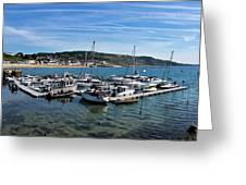 Outer Harbour - Lyme Regis Greeting Card