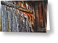 Outhouse Holzworth Historic Site Greeting Card