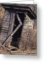 Outhouse1 Greeting Card