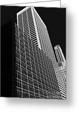 Outlines New York City Greeting Card