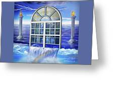Outpouring Greeting Card