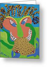 Outrageous Mind Control Greeting Card