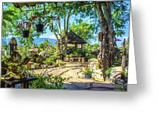 Outside Chiang Dao Coffee Shop  Greeting Card