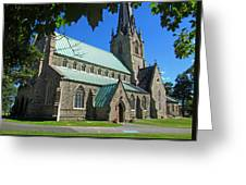 Outside Christ Church Cathedral 1 Greeting Card