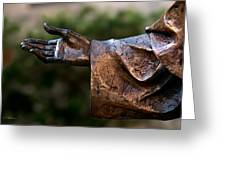 Outstretched Hand Greeting Card