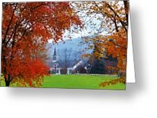Oval United Methodist Church Greeting Card