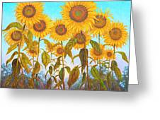 Ovation Sunflowers Greeting Card