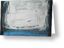 Over Blue Greeting Card