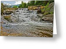 Over Natures Dam Greeting Card