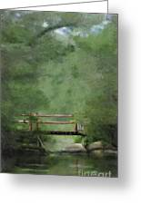 Over Still Waters Greeting Card