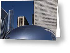 Over The Bean Greeting Card