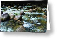 Over The Boulders - Mossman Gorge, Far North Queensland, Australia Greeting Card