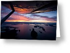 Over The San Juans Greeting Card