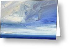 Over The Shore Greeting Card