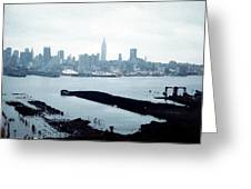 Overcast City Greeting Card