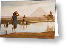 Overflow Of The Nile Greeting Card