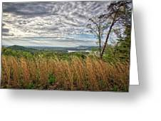 Overlook At Talking Rock Creek Greeting Card