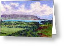 Overlook Greeting Card by Kenneth Grzesik