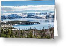 Overlooking Norris Point, Nl Greeting Card