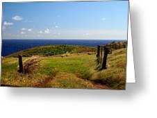 Overlooking Turtle Bay Greeting Card