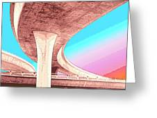 Overpass Two Greeting Card