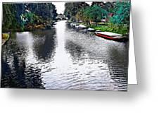 Overrijn Digital Artwork Greeting Card