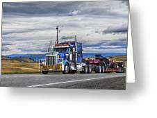 Oversize Load Greeting Card