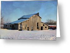 Owasa Barn 4 Greeting Card