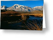 Owens River Valley Bishop Ca Greeting Card