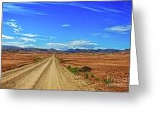 Owhyee Desert Greeting Card