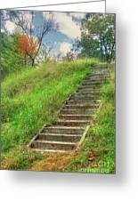 Owl Creek Mound  Greeting Card