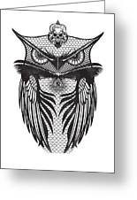 Owl Illustration Greeting Card