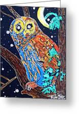 Owl Light Greeting Card